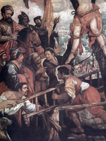 Juan De las Roelas The Martyrdom of St Andrew - Hand Painted Oil Painting