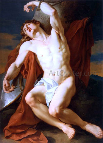 Francois-Guillaume Menageot The Martyrdom of St Sebastian - Hand Painted Oil Painting