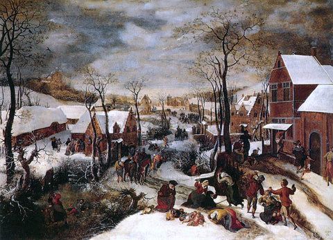 Lucas Van Valkenborch The Massacre of the Innocents - Hand Painted Oil Painting