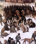 The Elder Pieter Bruegel The Massacre of the Innocents (detail) - Hand Painted Oil Painting