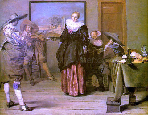 Pieter Codde The Meagre Company - Hand Painted Oil Painting