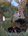 Henri Rousseau The Merry Jesters - Hand Painted Oil Painting