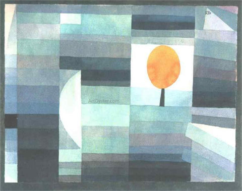 Paul Klee The Messenger of Autumn - Hand Painted Oil Painting