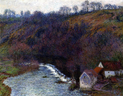 Claude Oscar Monet The Mill at Vervy - Hand Painted Oil Painting