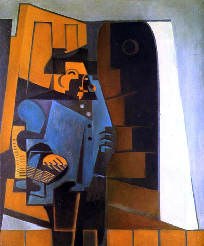 Juan Gris The Miller - Hand Painted Oil Painting