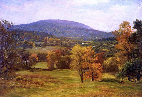 John Joseph Enneking The Milton Blue Hills - Hand Painted Oil Painting
