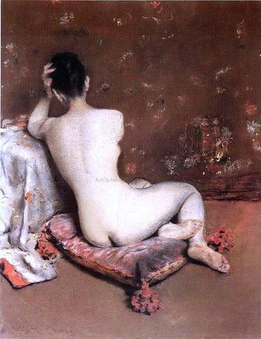 William Merritt Chase The Model - Hand Painted Oil Painting