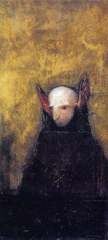 Odilon Redon The Monster - Hand Painted Oil Painting