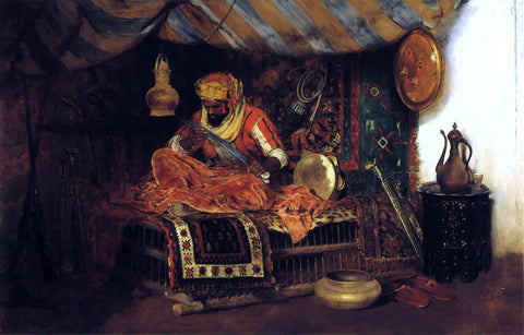 William Merritt Chase The Moorish Warrior - Hand Painted Oil Painting