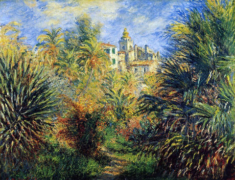 Claude Oscar Monet The Moreno Garden at Bordighera - Hand Painted Oil Painting