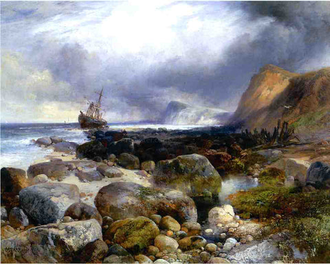 Thomas Moran The Morning After - Hand Painted Oil Painting