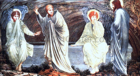 Sir Edward Burne-Jones The Morning of the Resurrection - Hand Painted Oil Painting