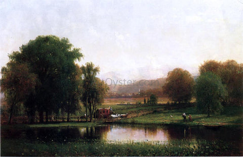 Thomas Worthington Whittredge The Morning Stage - Hand Painted Oil Painting