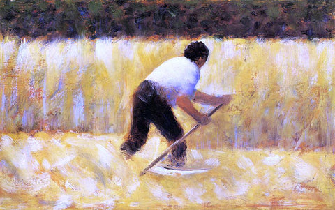 Georges Seurat The Mower - Hand Painted Oil Painting