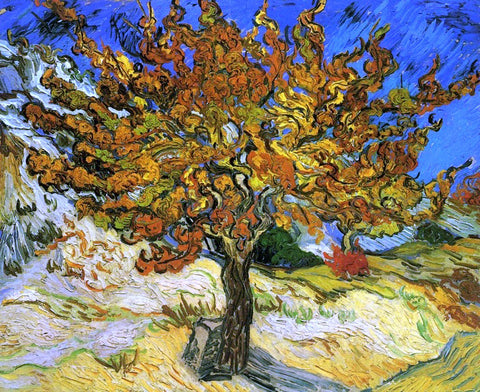 Vincent Van Gogh The Mulberry Tree - Hand Painted Oil Painting