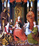 Hans Memling The Mystic Marriage of St. Catherine Of Alexandria - Hand Painted Oil Painting