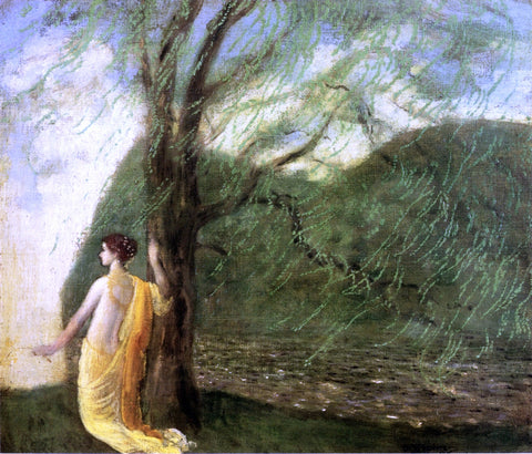 Arthur B Davies The Myth of Persephone - Hand Painted Oil Painting