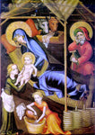 Unknown Austrian Masters The Nativity - Hand Painted Oil Painting