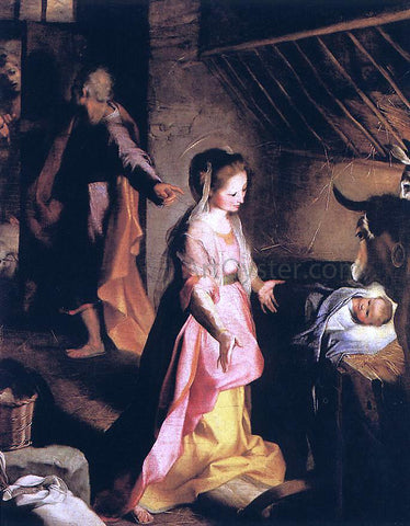 Federico Fiori Barocci The Nativity - Hand Painted Oil Painting