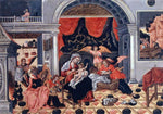 Theodoros Poulakis The Nativity of Christ - Hand Painted Oil Painting