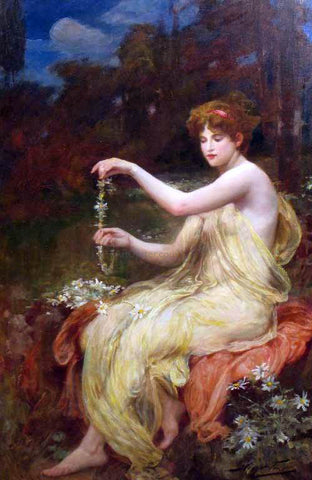 Robert Fowler The Necklace - Hand Painted Oil Painting