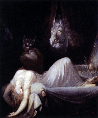 John Henry Fuseli The Nightmare - Hand Painted Oil Painting