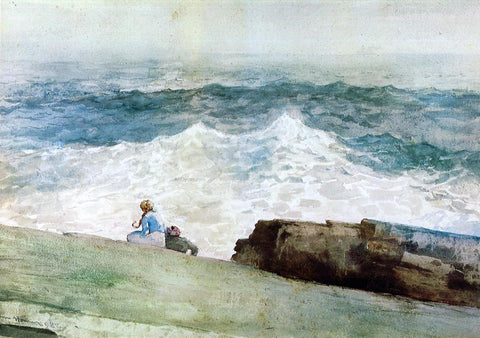Winslow Homer The Northeaster - Hand Painted Oil Painting