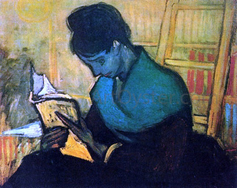 Vincent Van Gogh The Novel Reader - Hand Painted Oil Painting