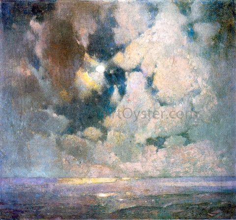 Emil Carlsen The Ocean at Sunrise - Hand Painted Oil Painting