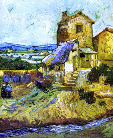 Vincent Van Gogh An Old Mill - Hand Painted Oil Painting