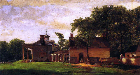 Eastman Johnson The Old Mount Vernon - Hand Painted Oil Painting