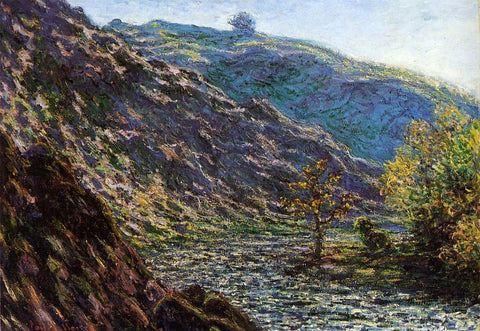 Claude Oscar Monet The Old Tree at the Confluence - Hand Painted Oil Painting