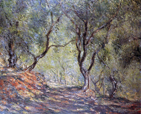 Claude Oscar Monet The Olive Tree Wood in the Moreno Garden - Hand Painted Oil Painting