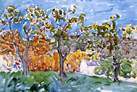 Maurice Prendergast The Orchard - Hand Painted Oil Painting
