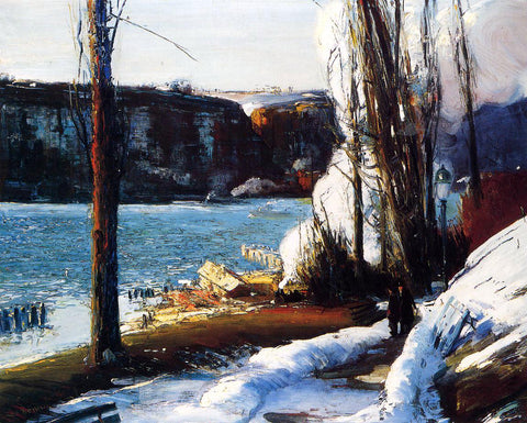George Wesley Bellows The Palisades - Hand Painted Oil Painting