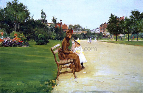William Merritt Chase The Park (also known as In Tompkins Park) - Hand Painted Oil Painting