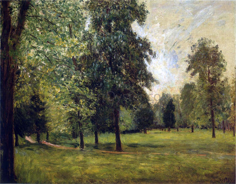 Alfred Sisley The Park at Sevres - Hand Painted Oil Painting