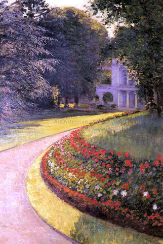 Gustave Caillebotte The Park at Yerres - Hand Painted Oil Painting