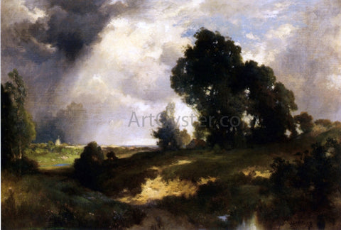 Thomas Moran The Passing Shower - Hand Painted Oil Painting