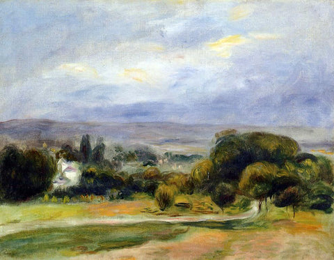 Pierre Auguste Renoir The Path - Hand Painted Oil Painting