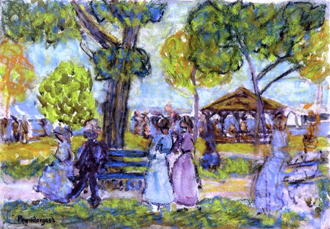 Maurice Prendergast The Pavilion - Hand Painted Oil Painting