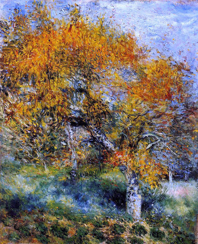 Pierre Auguste Renoir The Pear Tree - Hand Painted Oil Painting