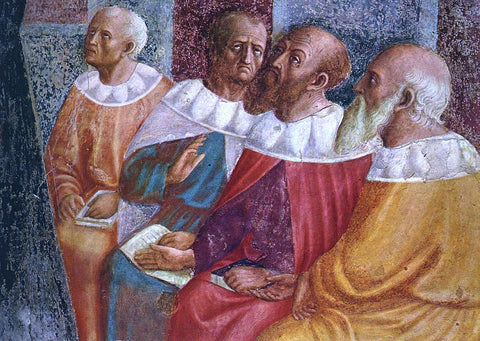 Masolino Da panicale The Philosophers of Alexandria (detail) - Hand Painted Oil Painting
