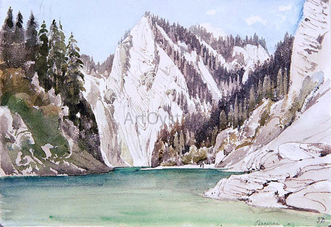 Thomas Ender The Pieniny Mountains with the Dunajec River - Hand Painted Oil Painting