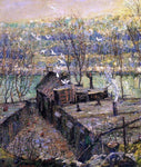 Ernest Lawson The Pigeon Coop - Hand Painted Oil Painting