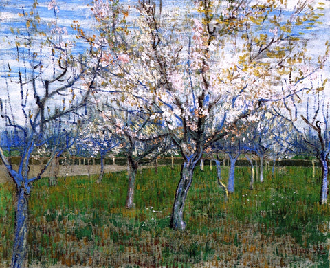 Vincent Van Gogh The Pink Orchard - Hand Painted Oil Painting