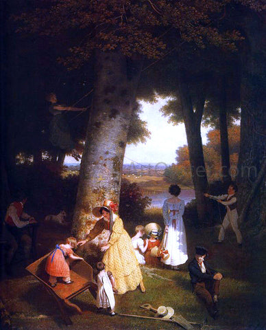 Jacques-Laurent Agasse The Playground - Hand Painted Oil Painting