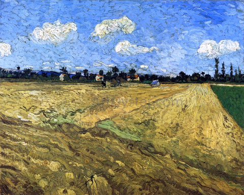 Vincent Van Gogh The Ploughed Field - Hand Painted Oil Painting