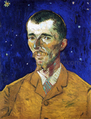 Vincent Van Gogh The Poet, Portrait of Eugene Boch - Hand Painted Oil Painting