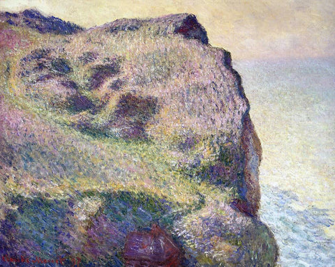 Claude Oscar Monet The Pointe du Petit Ailly - Hand Painted Oil Painting